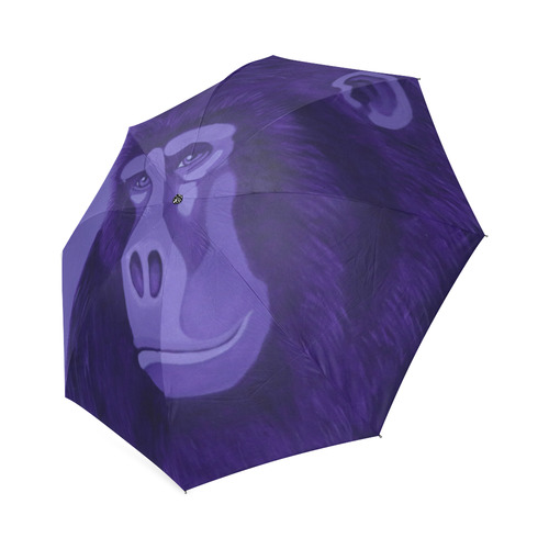 Violet Gorilla Foldable Umbrella