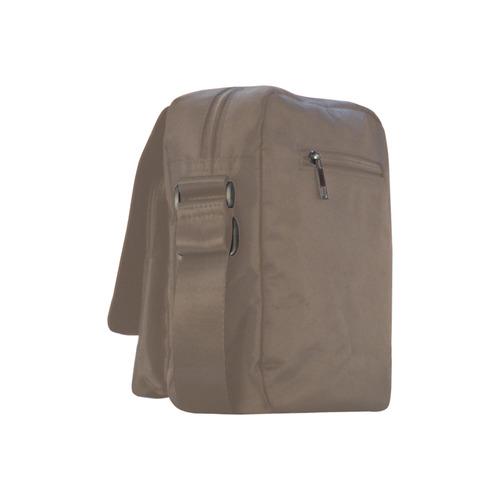 Vermillion Bear Crossbody Nylon Bags (Model 1633)