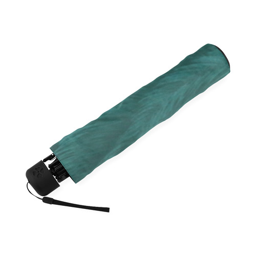 Forest Green Orangutan Foldable Umbrella