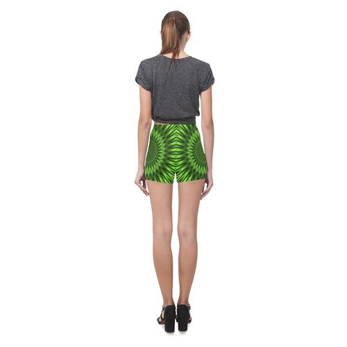 Green Lagoon Briseis Skinny Shorts (Model L04)