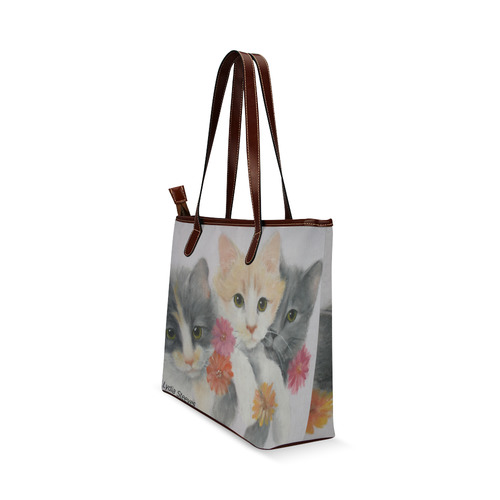 Daisy Chain Shoulder Tote Bag (Model 1646)