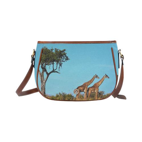Africa_20160901 Saddle Bag/Small (Model 1649) Full Customization