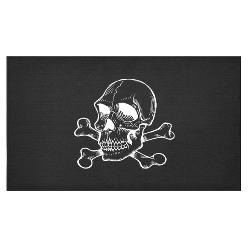 "Skull 816 (Halloween) Cotton Linen Tablecloth 60""x 104"""