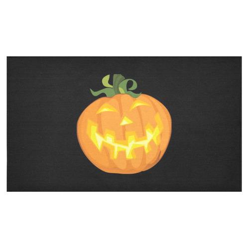 """Halloween pumpkin Cotton Linen Tablecloth 60""""x 104"""""""