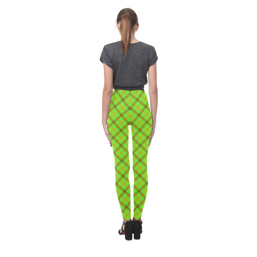Tami Kaye Plaid / Tartan Cassandra Women's Leggings (Model L01)