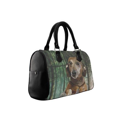 Like Dogs? Here's a Lab and Doxie handbag Boston Handbag (Model 1621)