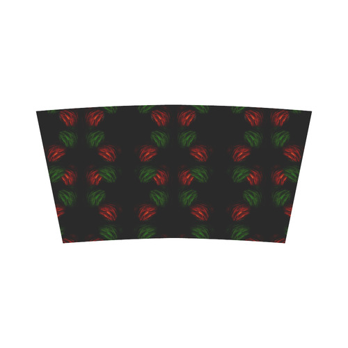 Christmas Mona Lisa with Santa Hat Bandeau Top