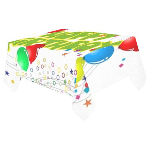 "Party Cotton Linen Tablecloth 52""x 70"""