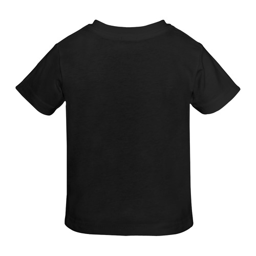 Christmas Mona Lisa with Santa Hat Sunny Youth T-shirt (Model T04)