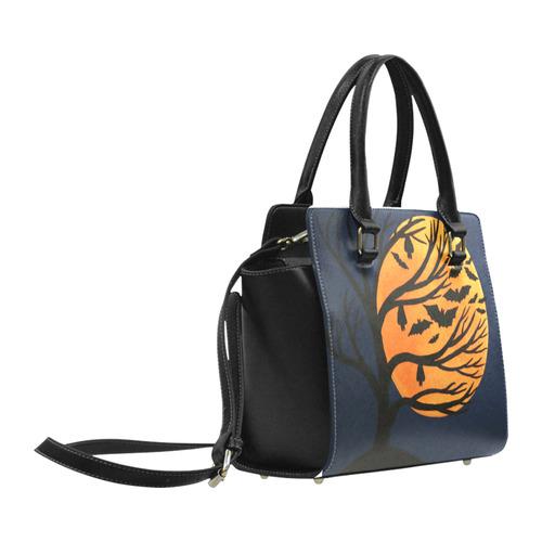 Spooky Bats Classic Shoulder Handbag (Model 1653)