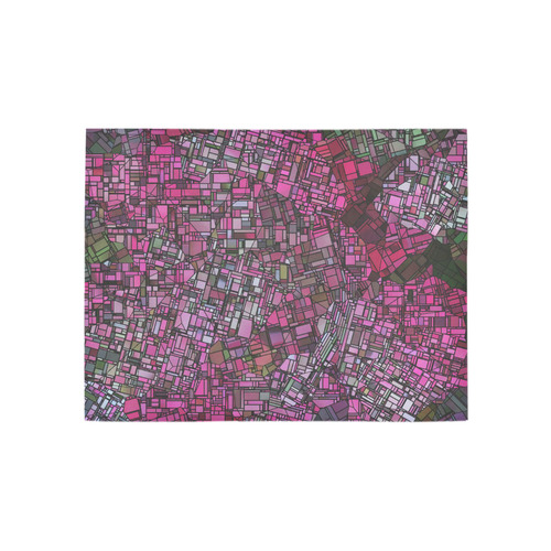 fantasy city maps 1 Area Rug 5'3''x4'