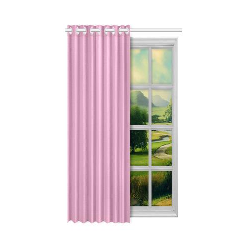 "Moonlight Mauve New Window Curtain 52"" x 63""(One Piece)"