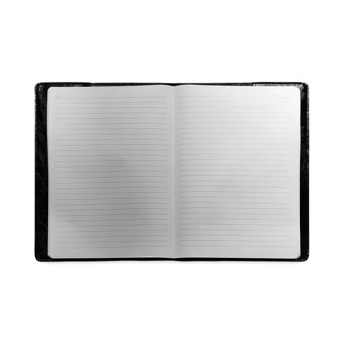 Random Paisley Chalkboard Custom NoteBook B5