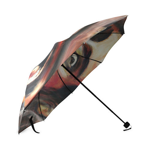 Nic Cage is hot umbrella Foldable Umbrella
