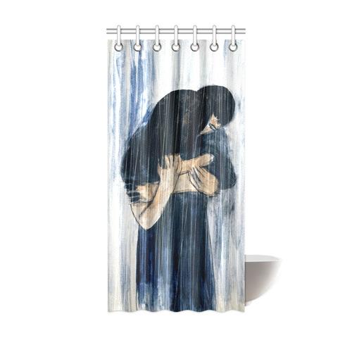 Rain Shower Curtain 36x72