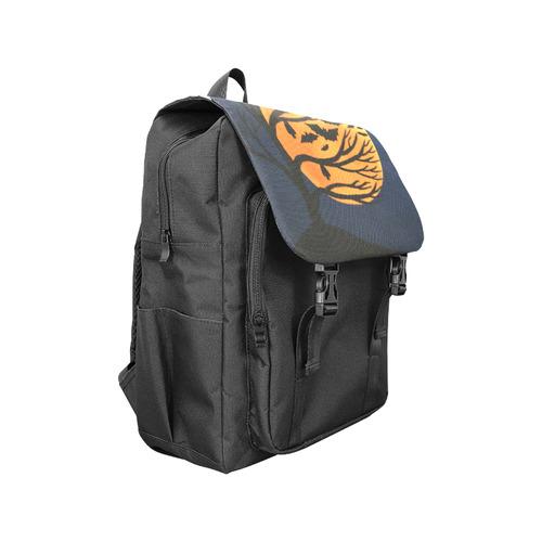 Spooky Bat Tree Casual Shoulders Backpack (Model 1623)