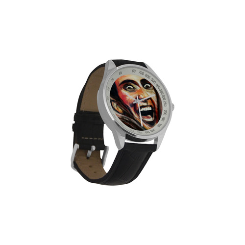 Nic Cage is hot watch Men's Leather Strap Analog Watch(Model 209)