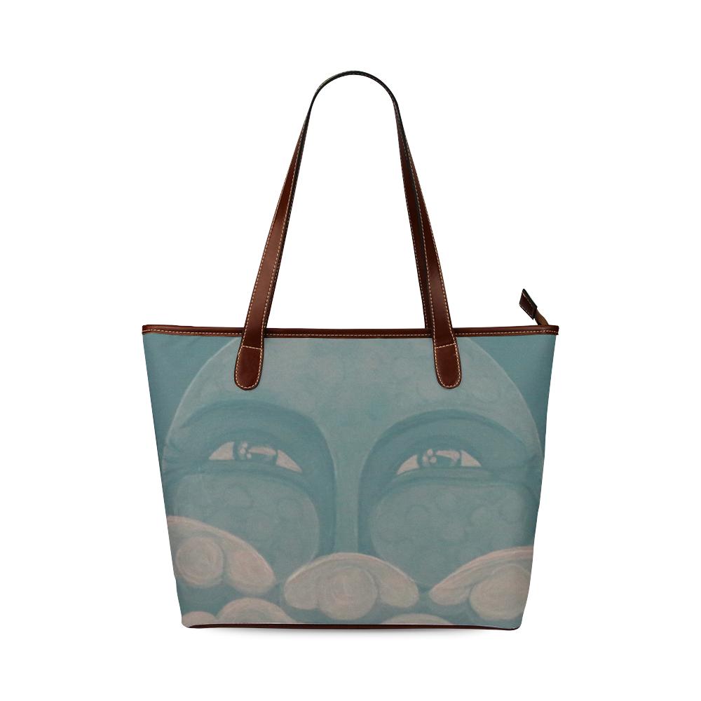 Celestial #8 Shoulder Tote Bag (Model 1646)