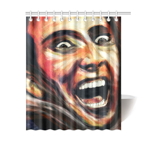 Nic Cage Is Hot Shower Curtain 60x72