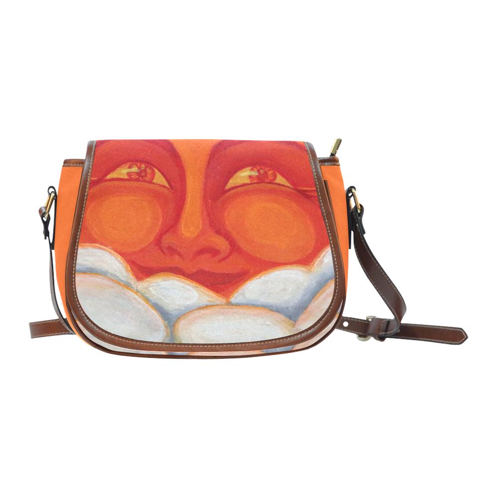 Celestial #1 Saddle Bag/Small (Model 1649) Full Customization