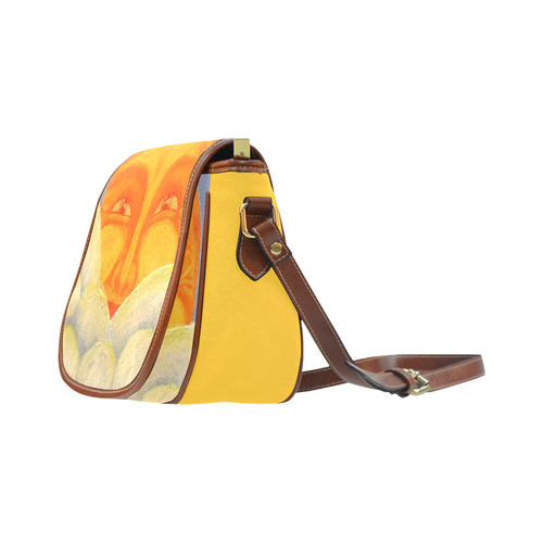 Celestial #2 Saddle Bag/Small (Model 1649) Full Customization