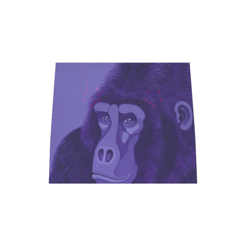 Violet Gorilla Boston Handbag (Model 1621)