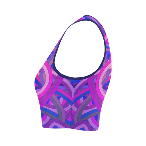 Tangle Women's Crop Top (Model T42)