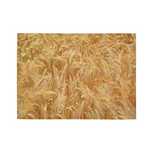 Golden Wheat Area Rug7'x5'