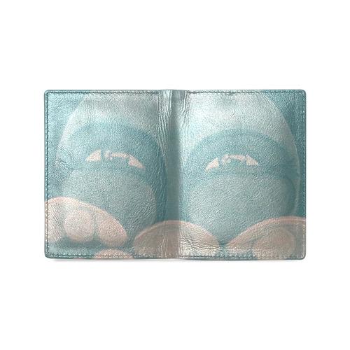 Celestial #8 Men's Leather Wallet (Model 1612)