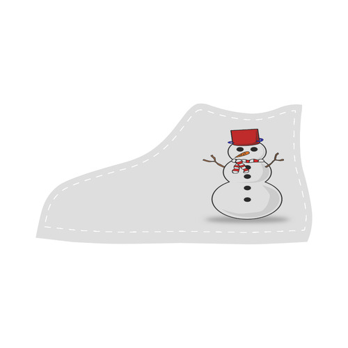 Festive Velcro High Top Canvas Kid's Shoes (Model 015)
