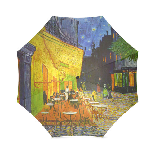 Van Gogh Cafe Terrace At Night Foldable Umbrella