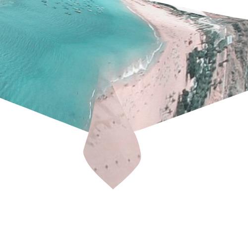 "Tenerife Cotton Linen Tablecloth 60""x120"""