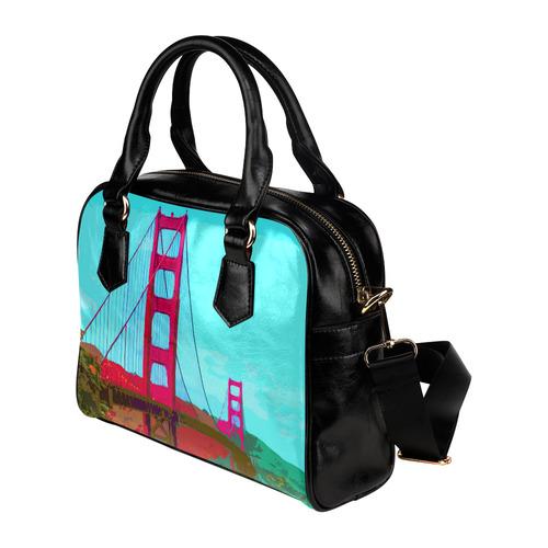 Golden_Gate_Bridge_20160901 Shoulder Handbag (Model 1634)