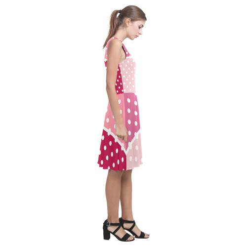 This crazy dress are amazing. Pink, Dark red and Purple tones at once. Shop it in our Designers Shop Atalanta Casual Sundress(Model D04)