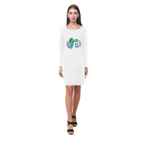 like water Demeter Long Sleeve Nightdress (Model D03)