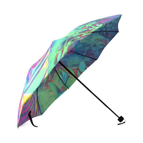 Animal ArtStudio Tiger 1016b Foldable Umbrella (Model U01)