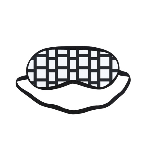 Exclusive Black and White Blocks erotic mask Collection Sleeping Mask
