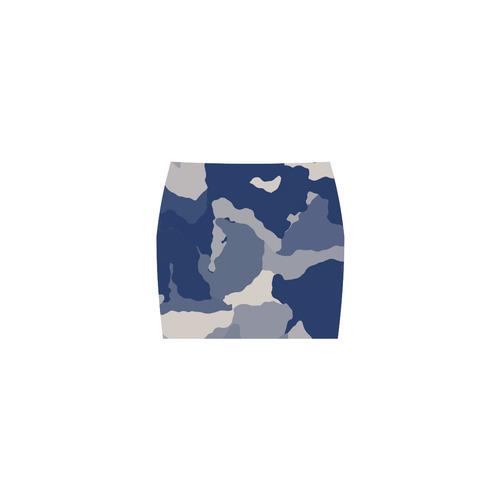 blue camo Nemesis Skirt (Model D02)