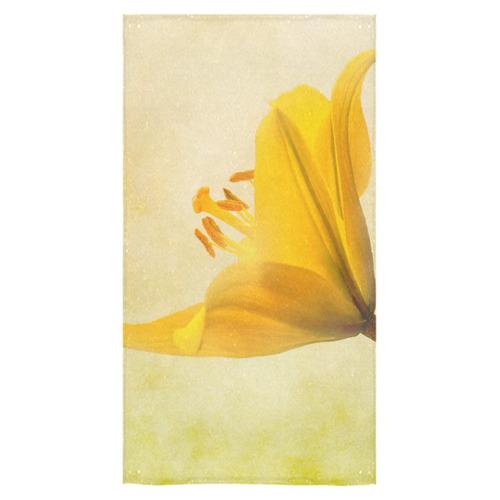 "Lemon lily Bath Towel 30""x56"""