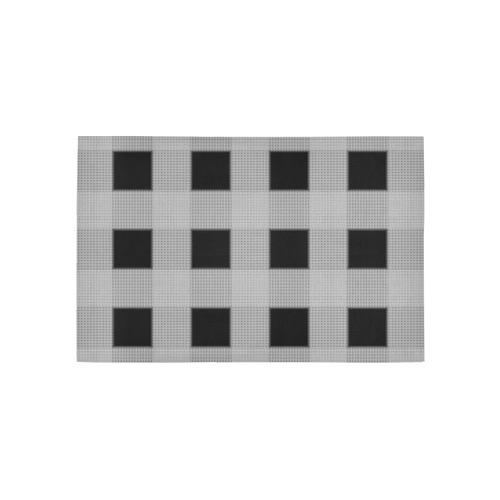 Stripe Pattern CB Area Rug 5'x3'3''