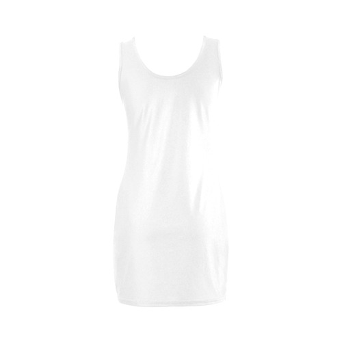 White Dress with Oh, my God! Sign Medea Vest Dress (Model D06)