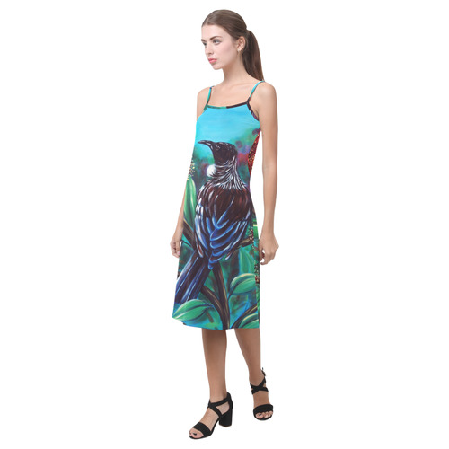 Tui in pohutukawa slip dress Alcestis Slip Dress (Model D05)