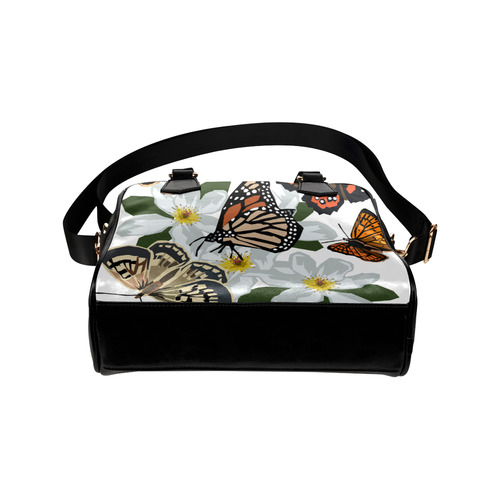 NZ butterflies Shoulder Handbag (Model 1634)