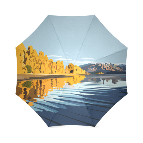 Wanaka umbrella Foldable Umbrella (Model U01)
