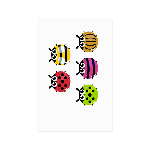 """Very CUTE BEEs : Wall art in various colors and types Poster 20""""x30"""""""