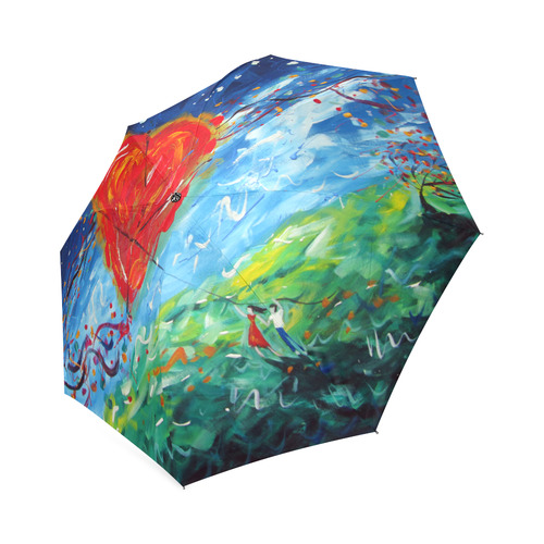 Hold on to Love Umbrella Foldable Umbrella