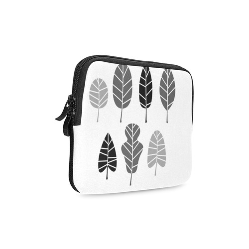 Elegant natural Leaves designers original Bag : black and monochrome Edition iPad mini