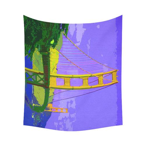 """Golden_Gate_Bridge_20160909 Cotton Linen Wall Tapestry 60""""x 51"""""""