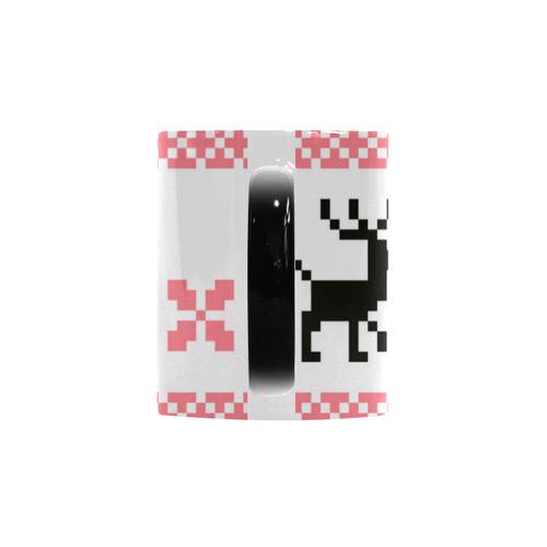 Norwegian designers Mugs edition : pink and black Custom Morphing Mug