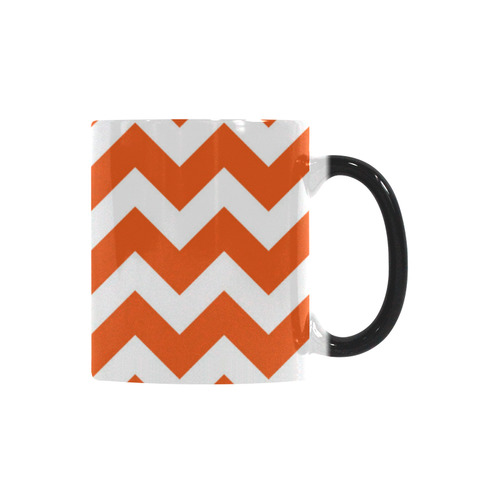 Cute designers Zig - Zag elegant mug / elegant design by guothova! Custom Morphing Mug